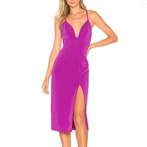 NBD x Revolve For You Midi Dress in Ultra Violet